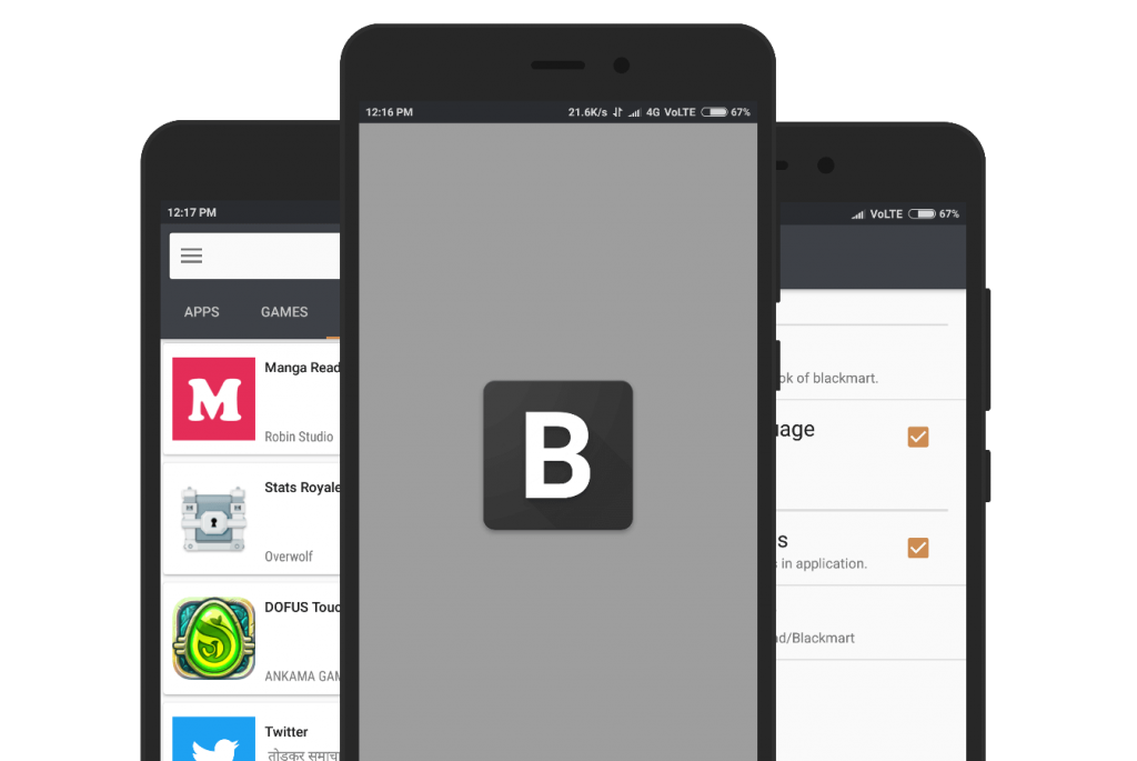 Blackmart - An App Store With Manifold Features For Every